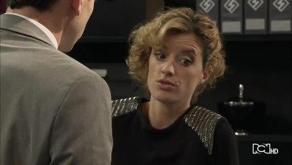 Capítulo 9 de agosto - Sara y Sebastián se dan un apasionado beso   ¿Quién mató a Patricia Soler?