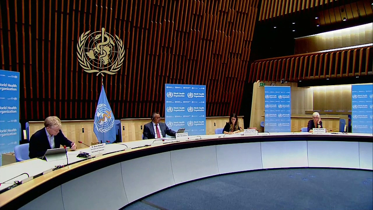 World Health Organization Holds Coronavirus Briefing – LIVE