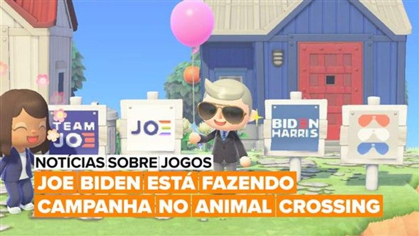 Você decoraria seu Animal Crossing com cartazes de Joe Biden?