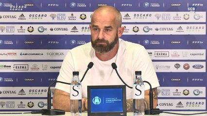 LMFC-SCB : Conférence de presse d'avant-match de M. Chabert