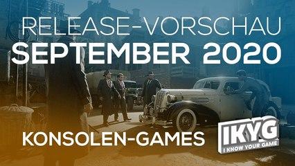 Games-Release-Vorschau - September 2020 - Konsole
