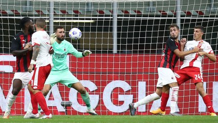 AC Milan v Monza, Friendly match 2020/21: the match