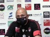 """#LOUR92 - Après-match / P.Mignoni : """"Je m'attendais à mieux"""""""