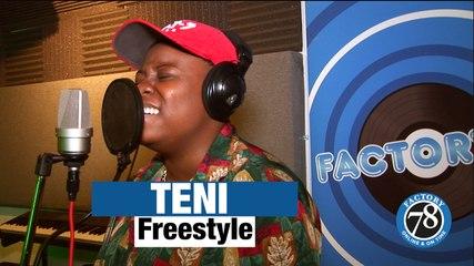 Teni - GOES HARD!! on Factory78 freestyle (Pt.1)
