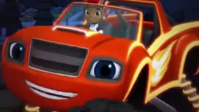 Blaze and the Monster Machines Season 3 Episode 4 Light Riders