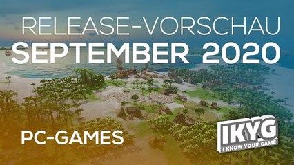Games-Release-Vorschau - September 2020 - PC