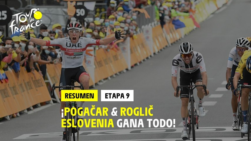 #TDF2020 - Etapa 9 - Pogačar & Roglič: eslovenia gana todo