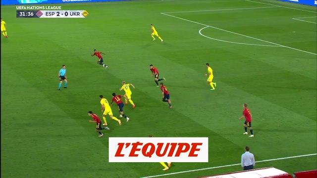 Les buts d'Espagne-Ukraine - Foot - L. nations