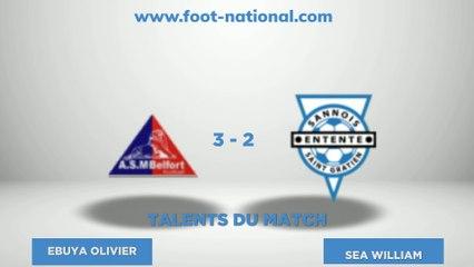 TALENT FOOT NATIONAL - 4ème journée National 2 Groupe B