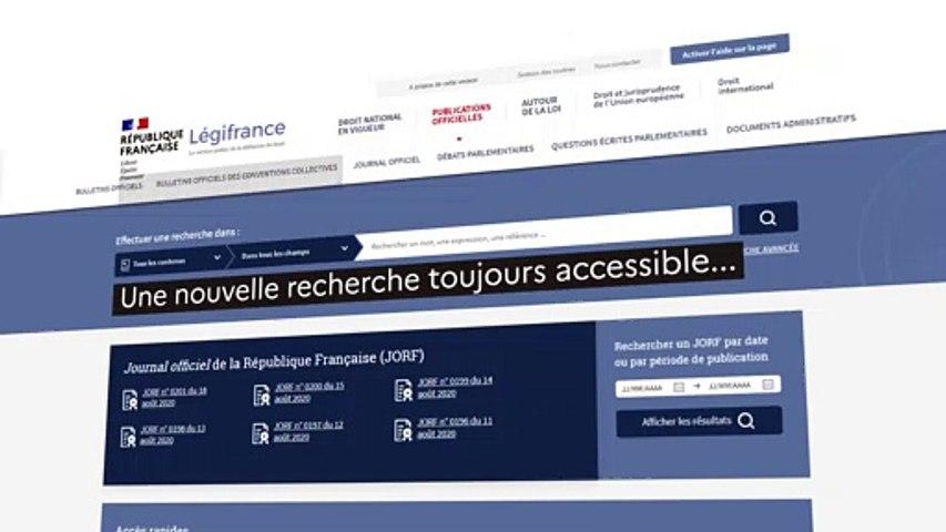 Légifrance_2020_Nouvelles-fonctionnalités
