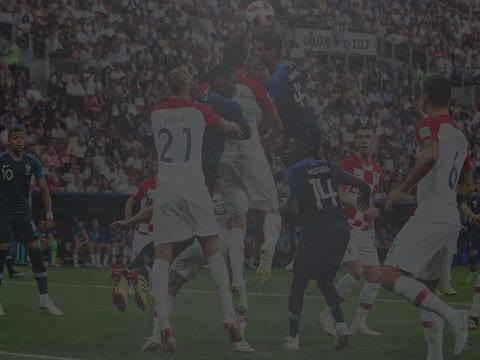 Bleus - La France invaincue contre la Croatie