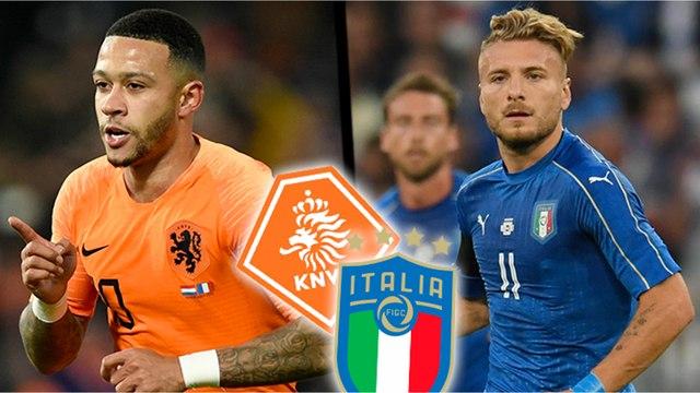 Les compositions probables de Pays-bas-Italie