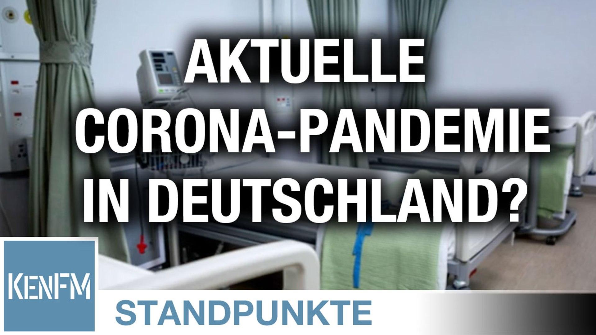 Faktencheck: Gibt es aktuell eine Coronavirus-Pandemie in Deutschland? | Von Paul Schreyer