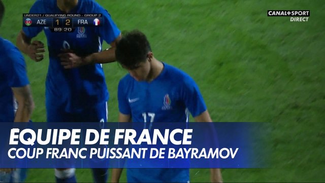 Le coup-franc en puissance de Bayramov ! - France / Azerbaïdjan