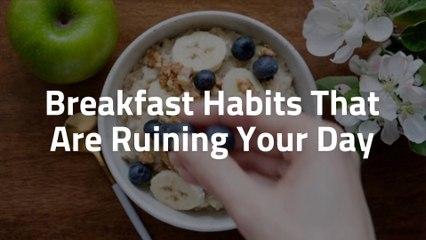 Bad Breakfast Moments