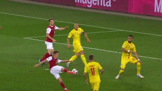 Les buts de Autriche - Roumanie - Foot - Ligue des nations