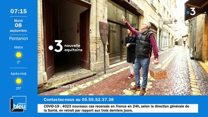 La matinale de France Bleu Creuse du 08/09/2020