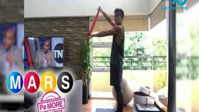 Mars Pa More: Pancho Magno's full Body Resistance Band Workout   Push Mo Mars