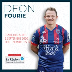 L'essai de Deon Fourie contre Nevers, saison 2020-2021