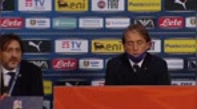 """Italie - Mancini : """"Difficile pour tous les joueurs"""""""