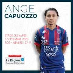 L'essai d'Ange Capuozzo face à Nevers, saison 2020-2021