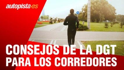 Consejos de la DGT para los runners