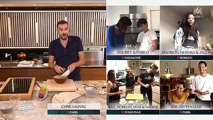 """Iris Mittenaere et Diego el Glaoui dans """"Tous en cuisine"""", M6"""