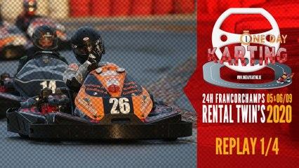 24H Karting Spa-Francorchamps 2020 [REPLAY 1/4]