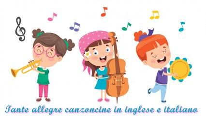 Giulia Parisi - Tante allegre canzoncine in inglese e italiano #Canzonibambini e Musica per bambini