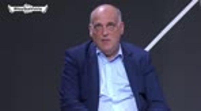 """La Liga - Tebas : """"J'aimerais que Messi termine sa carrière chez nous"""""""