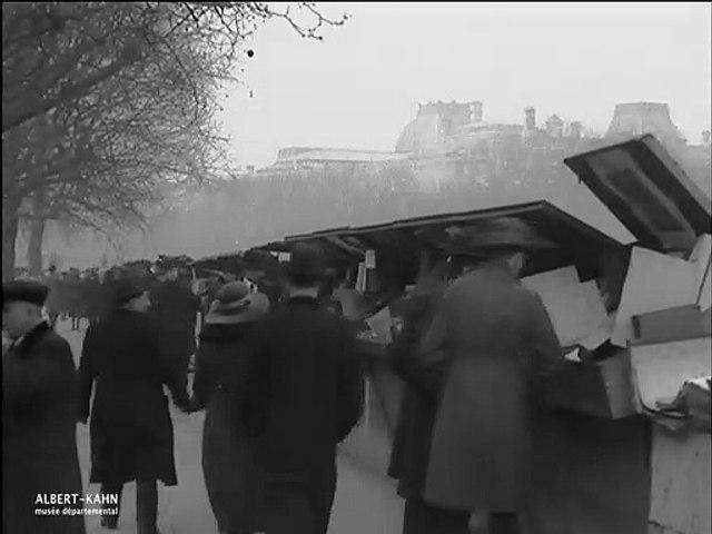 Les bouquinistes sur les quais, Paris