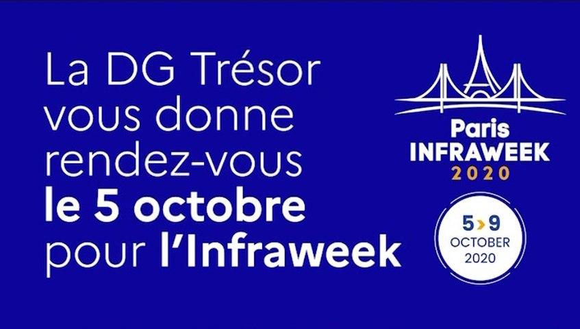 La DG Trésor vous donne rendez-vous le 5 octobre 2020 pour l'Infraweek