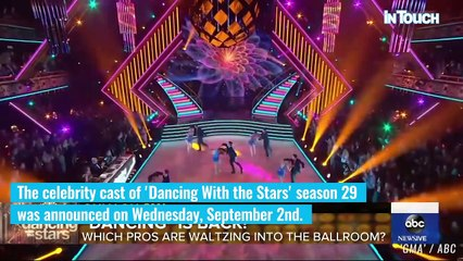 Meet The Celebs Who Will Be Competing In The Ballroom For 'Dancing With The Stars' Season 29