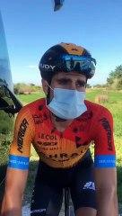 Mikel Landa, tras la décima etapa del Tour de Francia