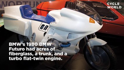 Crazy Concept Motorcycles of the Past