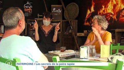 PATRIMOINE /  Les secrets de la poire tapée