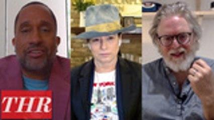 The Hollywood Reporter's Full, Uncensored Comedy Showrunners Roundtable With Kenya Barris, Greg Daniels, Liz Feldman, Rob McElhenney, Tony McNamara and Amy Sherman-Palladino