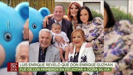 Luis Enrique Guzmán llegó muy bien acompañado al cumpleaños de doña Silvia Pinal. | Ventaneando