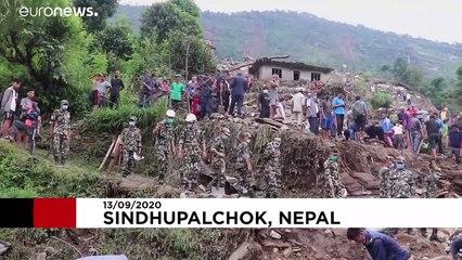 روستاهایی که در نپال طعمهٔ رانش زمین شدند