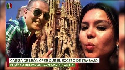 ¡Carisa de León revela las razones por las que se dio la separación con Xavier Ortiz! | Ventaneando