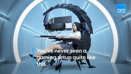 Cluvens Scorpion Computer Cockpit