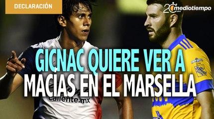 Gicnac recomendó al Marsella fichar a JJ Macías