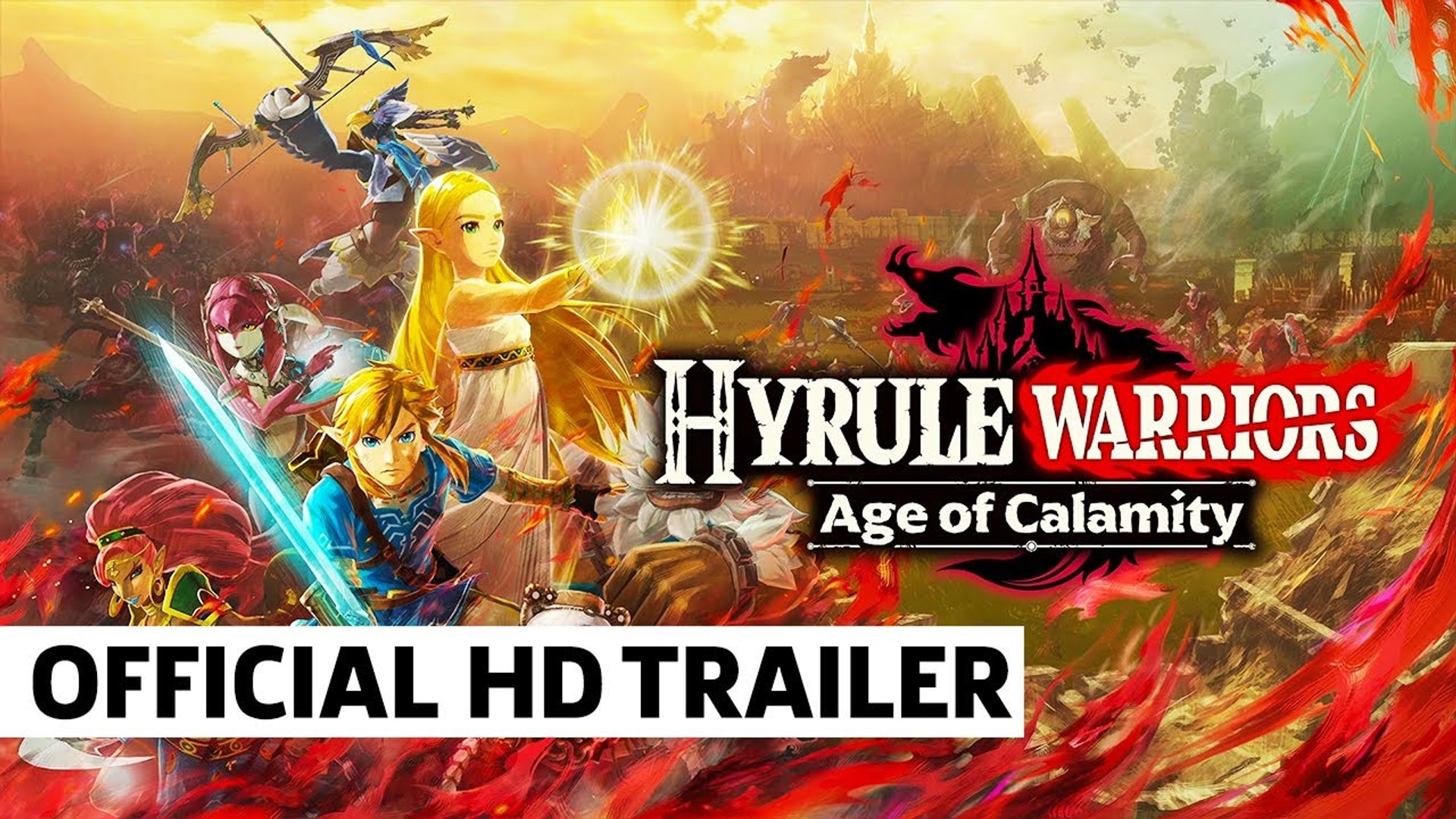 Hyrule Warriors Age Of Calamity Official Announcement Trailer Video Dailymotion