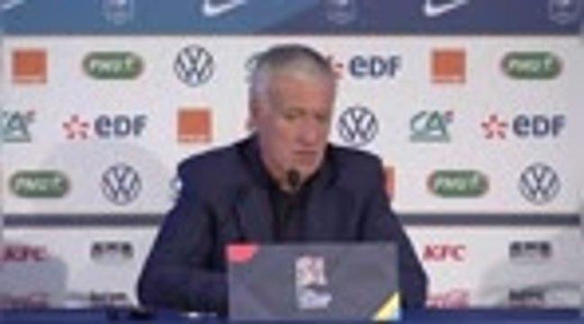 "Bleus - Deschamps : ""Martial a changé"""