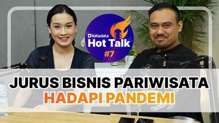 Jurus Bisnis Pariwisata Hadapi Pandemi - Hot Talk 7 - Katadata Indonesia