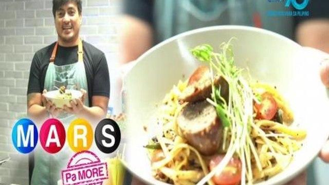 Mars Pa More: Pinoy-style Longganisa Pasta ala Wendell Ramos | Mars Masarap