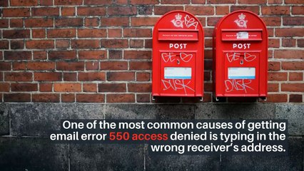 How To Fix 550 Delivery Error? Troubleshoot 550 Email Error