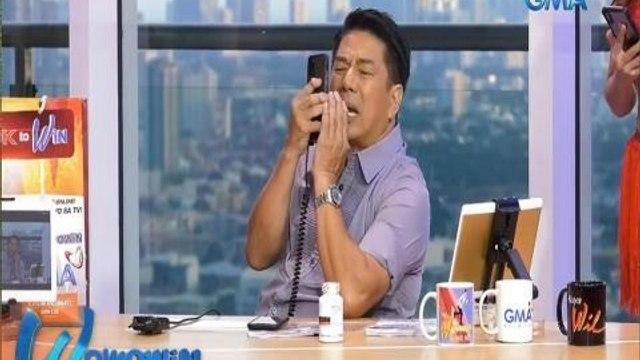 Wowowin: Caller na nanalo, dinumog ng mga kapitbahay!