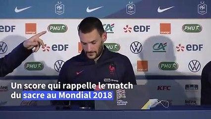 Football/Ligue des Nations: les Bleus, rajeunis, domptent la Croatie
