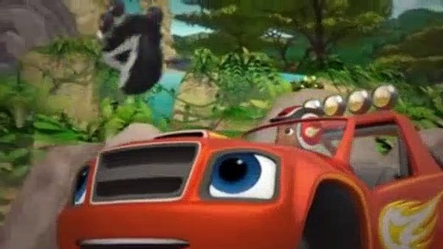 Blaze and the Monster Machines Season 3 Episode 14 The Great Animal Crown